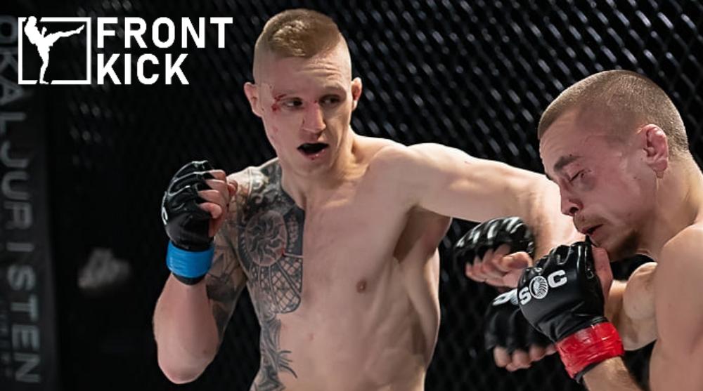 Tobias Harila Paul Hughes Cage Warriors MMA Frontkick Online Svensk MMA