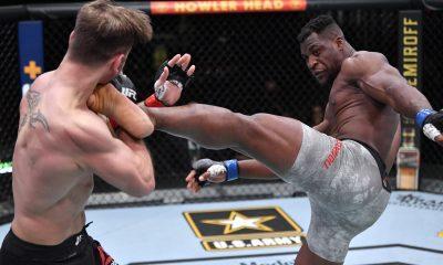 Francis Ngannou MMA Frontkick.online