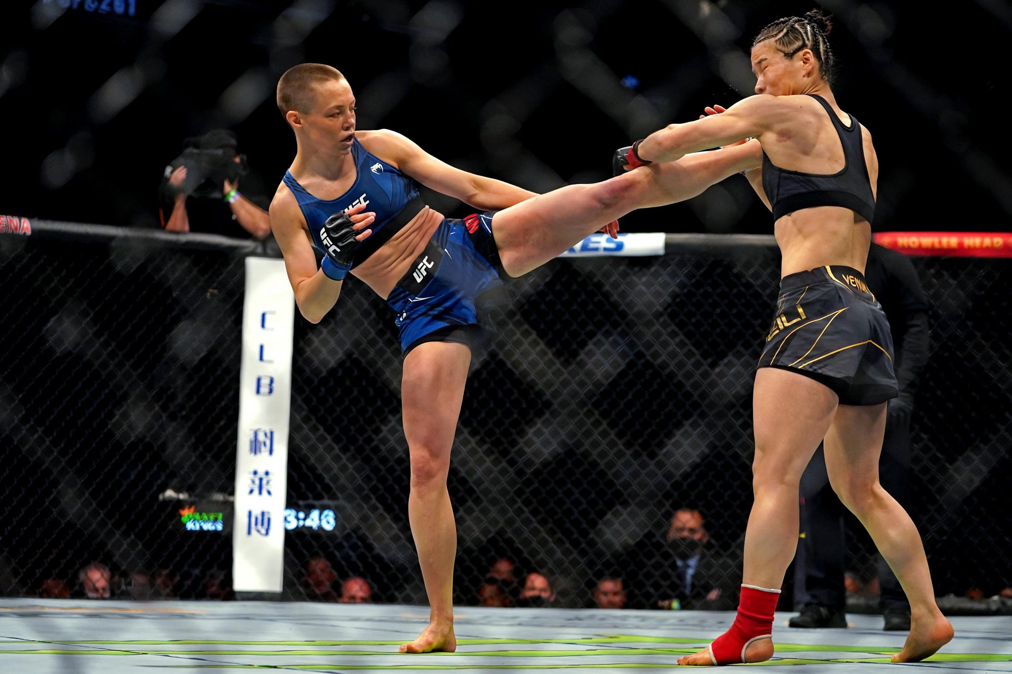 Rose Namajunas MMA Frontkick.online
