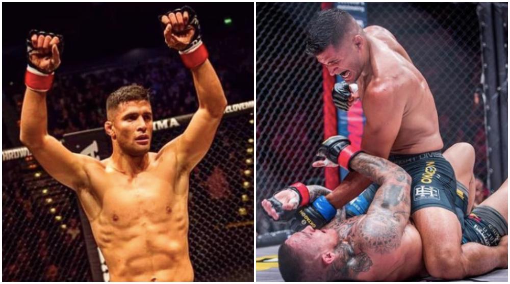 Fernando Gonzalez BRAVE MMA Frontkick Online