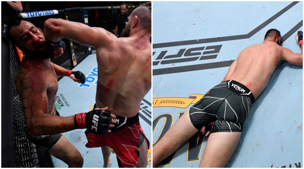 Jiri Prochazka Dominick Reyes UFC MMA Frontkick Online