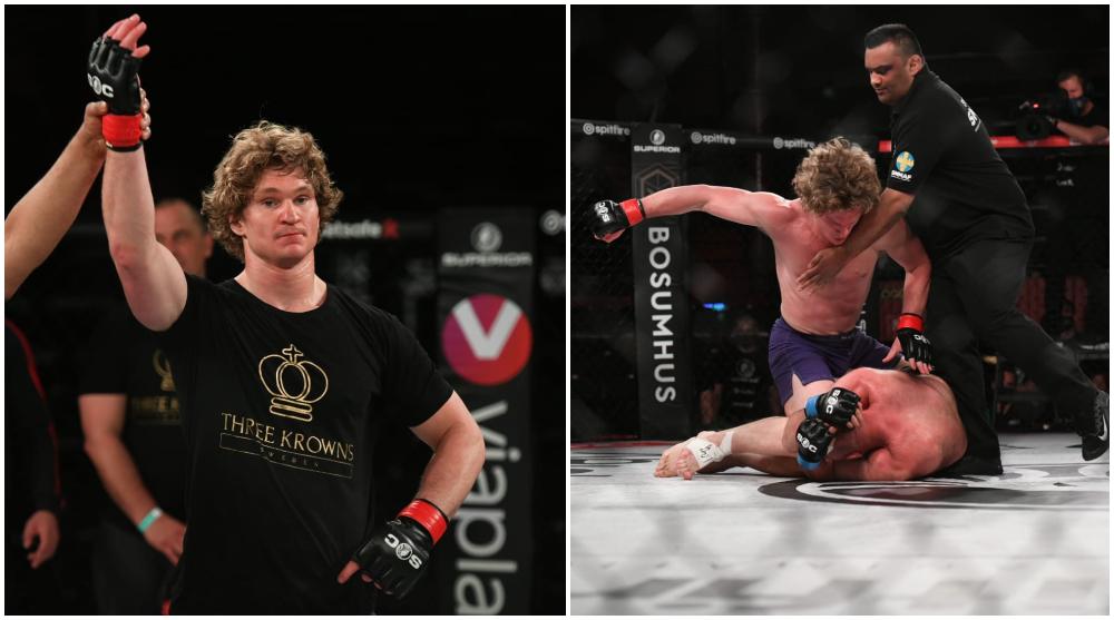 Karl Albrektsson Superior Challenge 22 MMA Svensk MMA