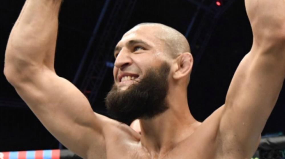 Khamzat Chimaev Neil Magny accepterar match UFC MMA Frontkick Online