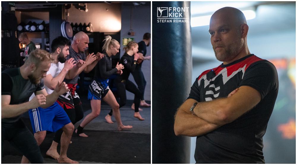 MMA-landslaget Anders _Taxi_ Ohlsson MMA-landslaget Frontkick Online Svensk MMA