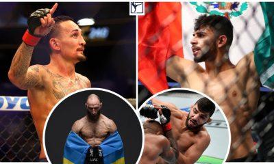 Max Holloway Yair Rodriguez Guram Kutateladze Amir Albazi UFC Frontkick.online