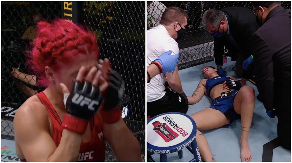 Randa Markos UFC MMA Frontkick Online