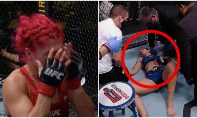 Randa Markos dq UFC MMA Frontkick Online