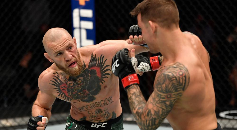 UFC 264 Conor McGregor Dustin Poirier Frontkick.online