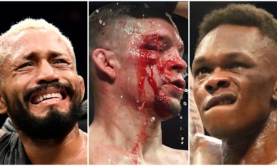 Deiveson Figueiredo Nate Diaz Israel Adesanya MMA Frontkick.online