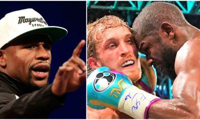 Floyd Mayweather Logan Paul Frontkick Online Boxning kritik