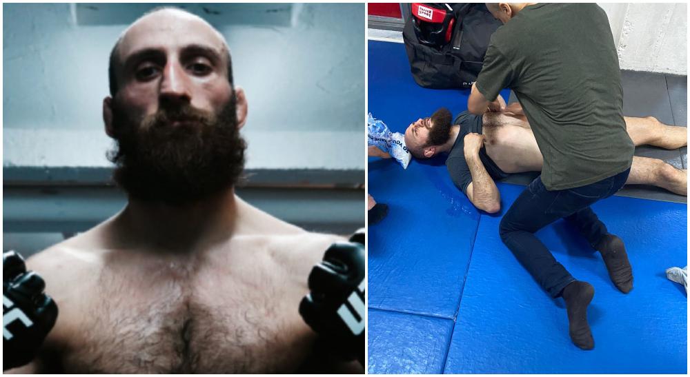 Guram Kutateladze skada revben UFC MMA Frontkick Online