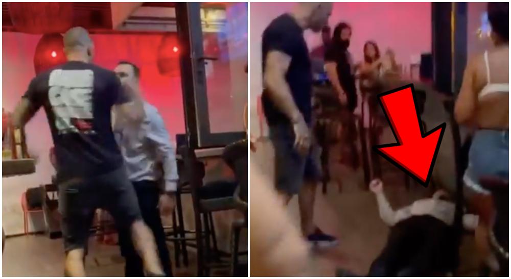 Joe Schilling misshandel bar video UFC Bellator MMA Frontkick Online