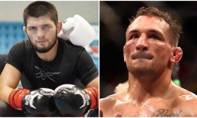 Khabib Nurmagomedov Michael Chandler UFC MMA Frontkick Online
