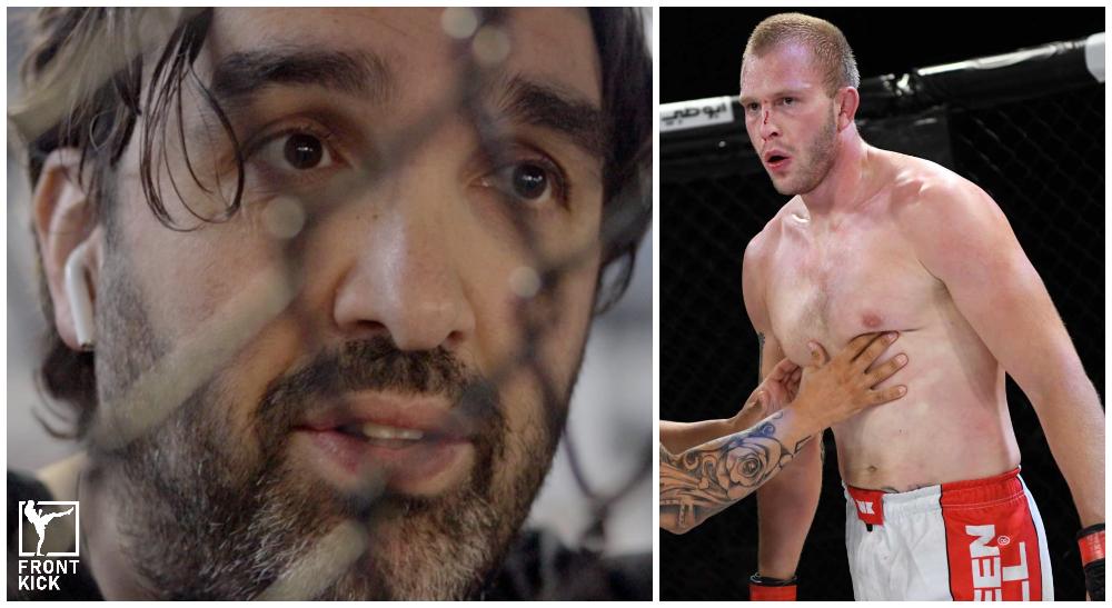 Majdi Shammas Anton Turkalj UFC Dana White's Contender Series BRAVE CF Frontkick.online