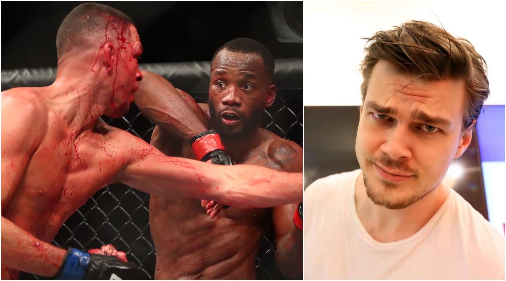 Nate Diaz Leon Edwards Kronika UFC MMA Frontkick Online