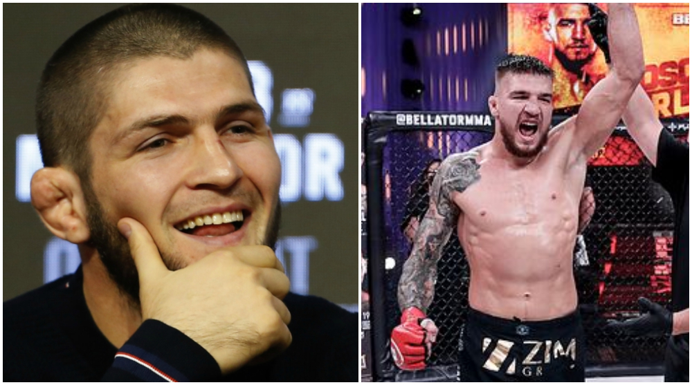 Nya Khabib Bellator Yaroslav Amosov MMA Frontkick Online
