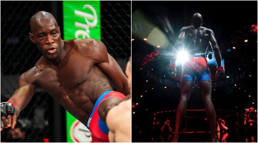Saidbou Sy UFC MMA PFL Frontkick online Aleksei Kunchenko