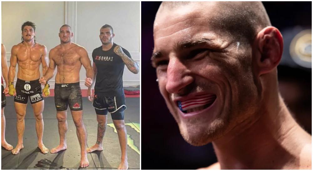 Sean Strickland Orlando Sanchez hot 1 UFC MMA Frontkick Online