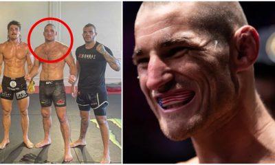 Sean Strickland Orlando Sanchez hot redring UFC MMA Frontkick Online