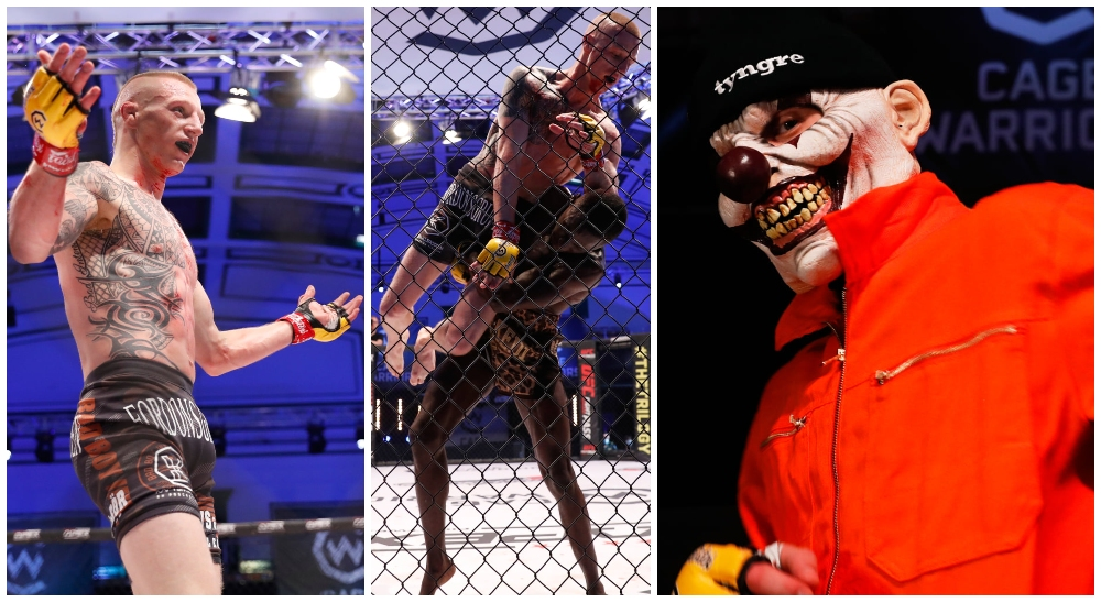 Tobias Harila Cage Warriors 125 MMA Frontkick.online