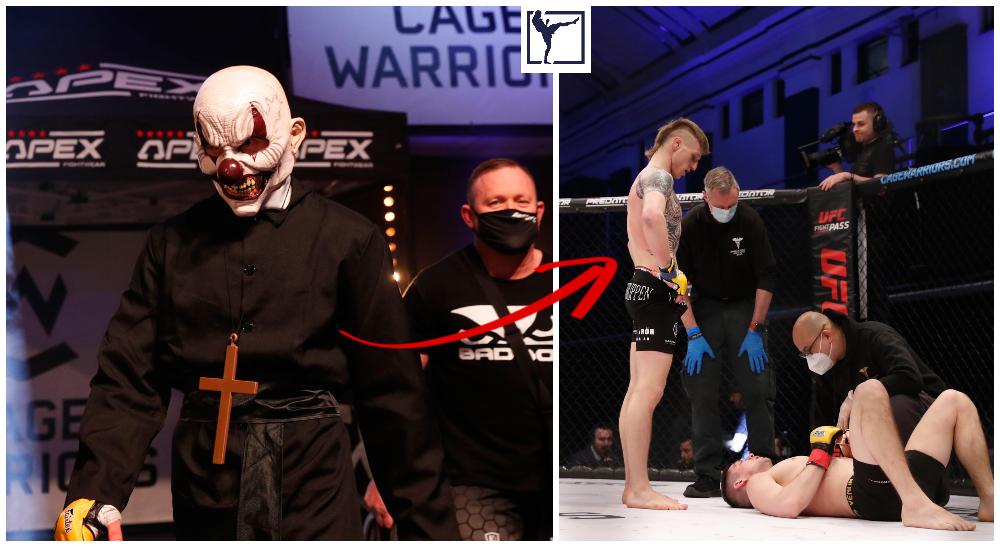 Tobias Harila Cage Warriors Frontkick.online