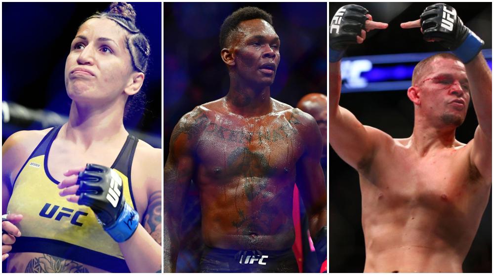 UFC 263 Pannie Kianzad Israel Adesanya Nate Diaz UFC MMA Frontkick Online