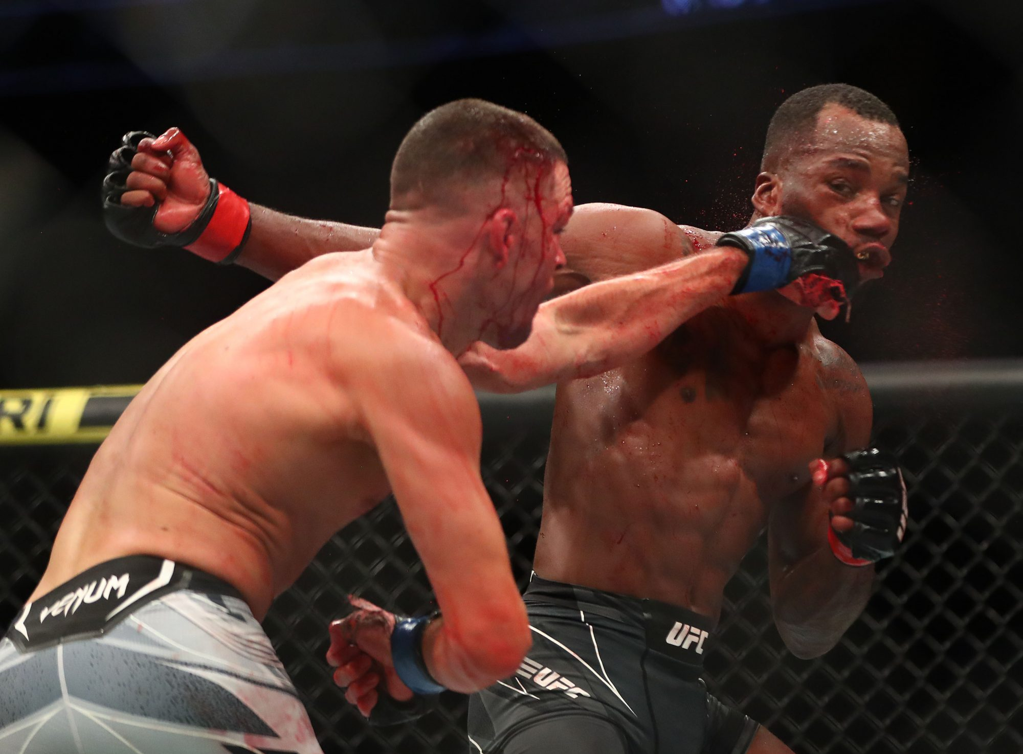 Nate Diaz Leon Edwards MMA Frontkick.online