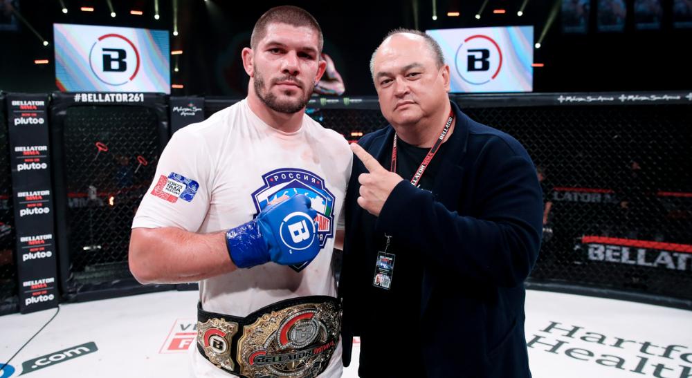 Valentin Moldavsky Bellator 261 MMA Frontkick.online