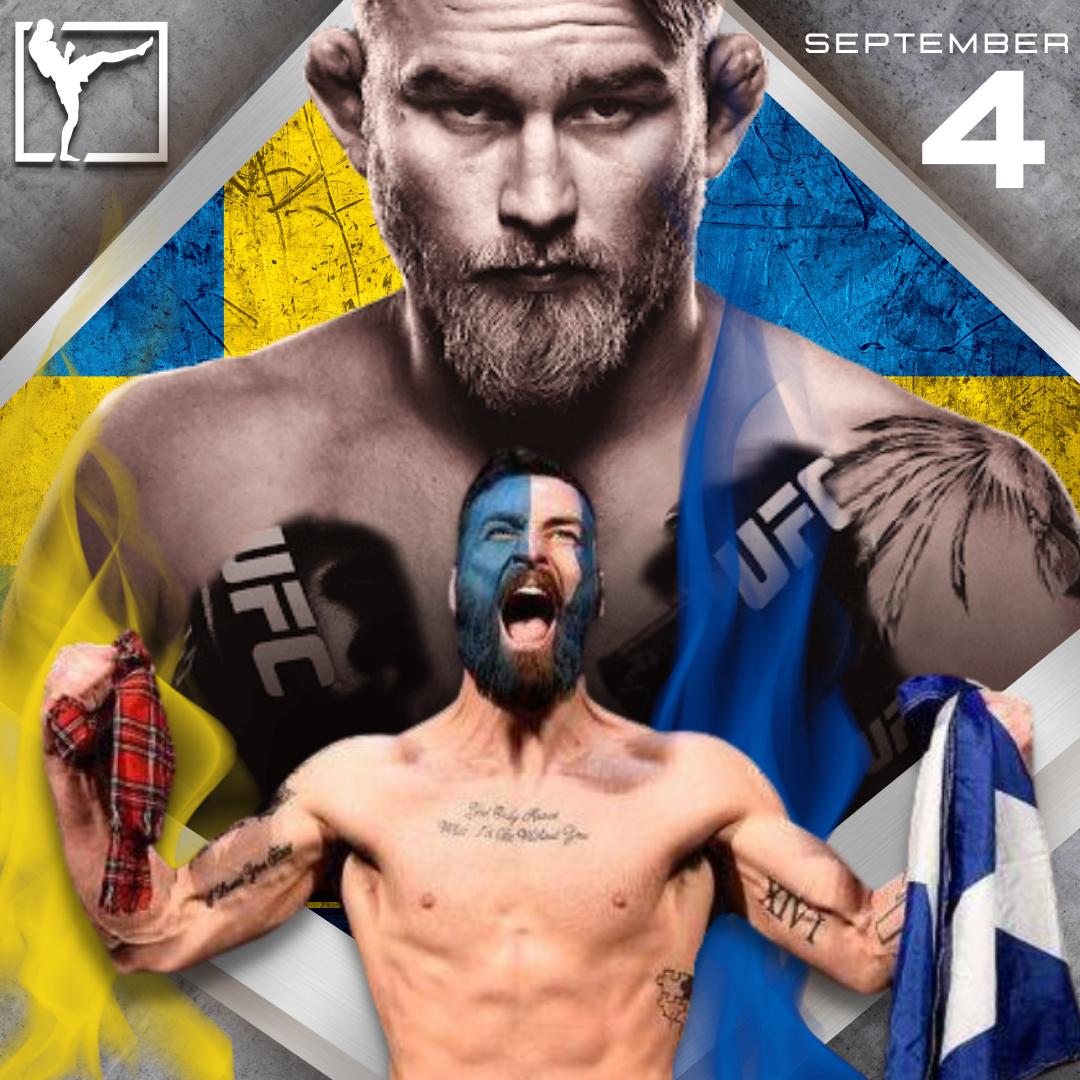 Alexander Gustafsson The Mauler Paul Craig UFC MMA Frontkick.online