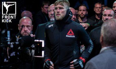 Alexander Gustafsson The Mauler UFC MMA Frontkick.online