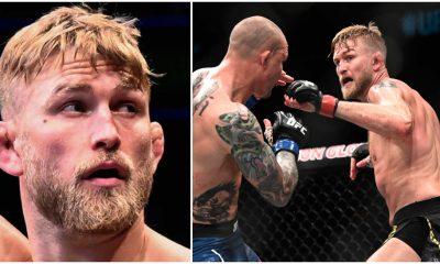 Alexander Gustafsson comeback tre ronder 1 UFC MMA Frontkick Online