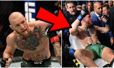 Conor MCGregor UFC 264 MMA Frontkick Online bår