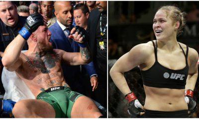Conor McGregor Ronda Rousey UFC 264 MMA Frontkick Online