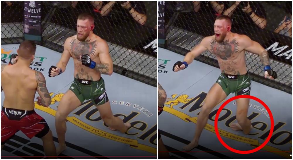 Conor mcGregor dustin poirier UFC 264 MMA Frontkick Online