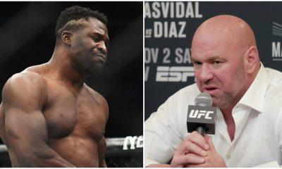 Francis Ngannou Dana White UFC MMA Frontkick Online
