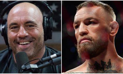 Joe Rogan Conor McGregor UFC 264 försvar UFC MMA Frontkick Online