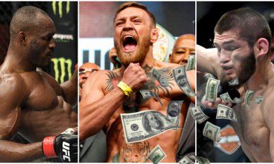 Kamaru Usman Conor McGregor Khabib Nurmagomedov UFC Frontkick.online