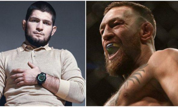 Khabib Nurmagomedov Conor McGregor Daniel Cormier UFC MMA Frontkick Online