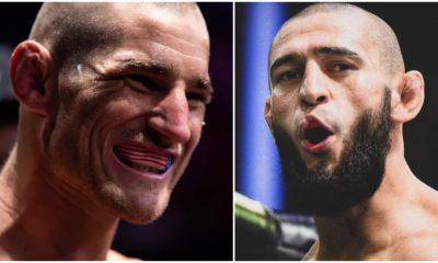 Khamzat Chimaev Sean Strickland UFC MMA Frontkick Online