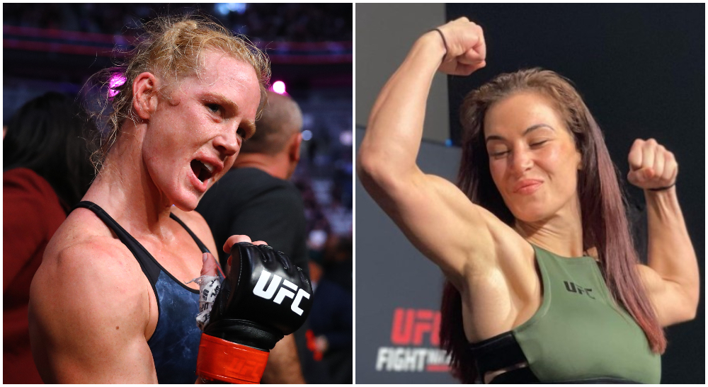 Miesha Tate holly Holm MMA Frontkick.online