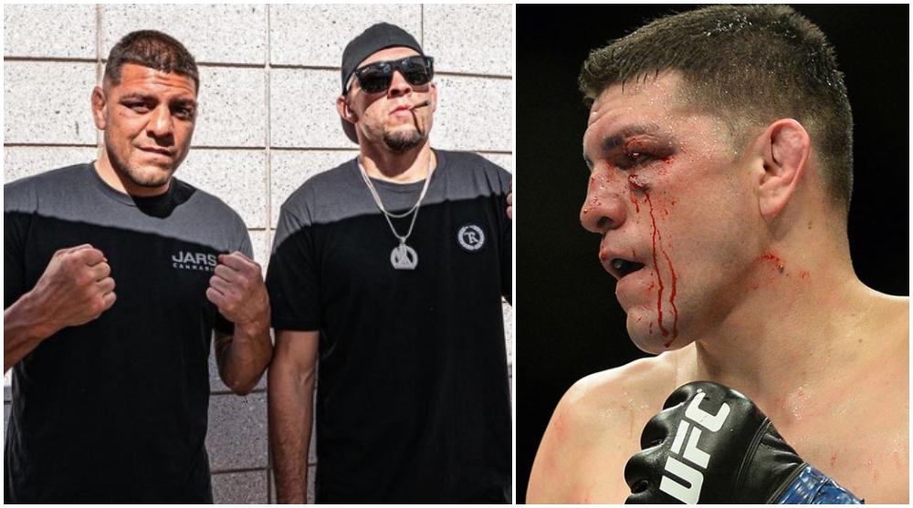 Nick Diaz UFC MMA Robbie Lawler Frontkick Online