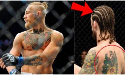 Sean O'Malley Conor McGregor UFC MMA Frontkick Online