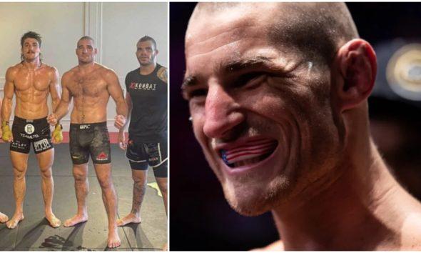 Sean Strickland historia Uriah Hall UFC MMA Frontkick Online