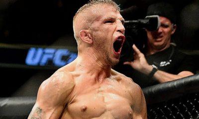 TJ Dillashaw scream UFC MMA Frontkick Online
