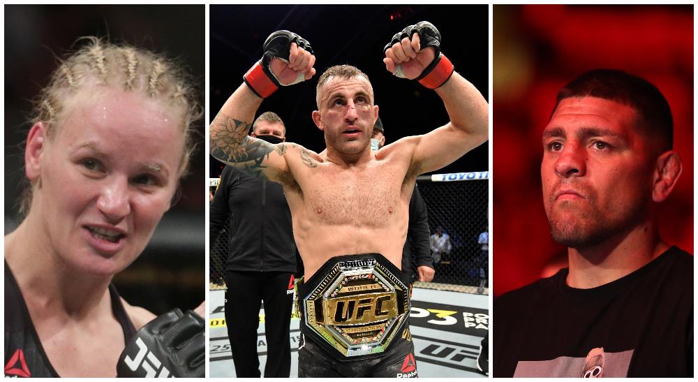 UFC 266 Alexander Volkanovski MMA Frontkick.online