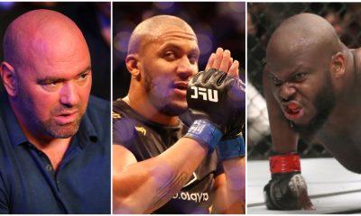 Derrick Lewis Dana White Cyril Gane MMA Frontkick.online