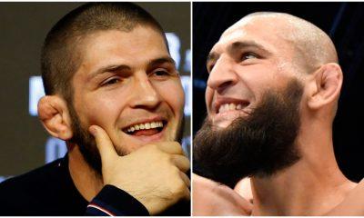 Khabib Nurmagomedov Khamzat Chimaev UFC MMA Frontkick Online Featured