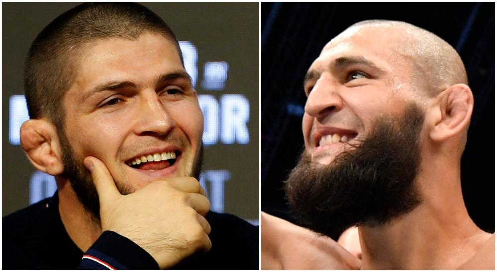Khamzat Chimaev Khabib Nurmagomedov UFC MMA Frontkick Online