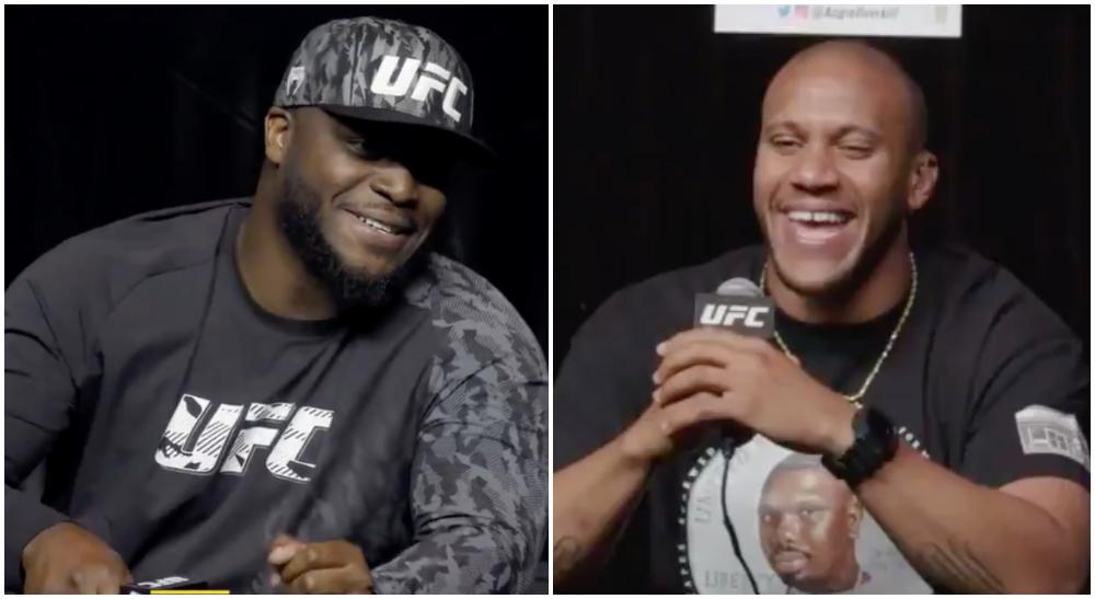 The Black Beast Derrick Lewis Ciryl Gane svar UFC MMA Frontkick Online UFC 265