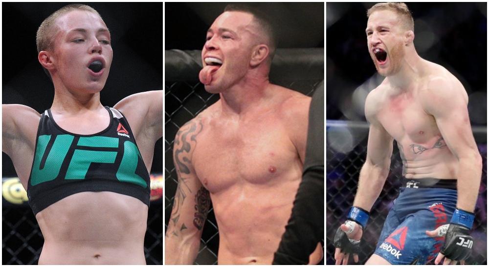 UFC 268 Rose Namajunas Colby Covington Justin Gaethje UFC MMA Frontkick Online